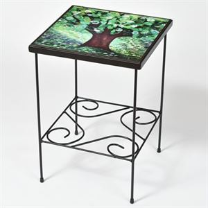 green tree table